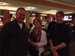 Paul Doiron, Alice Adams, and a man named Jim