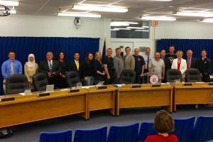 Westbrook City Council welcomes Russian delegation from Archangel.